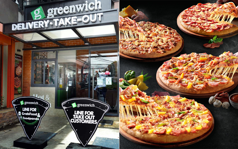Greenwich's first delivery and takeout-only store is located in Las Piñas.
