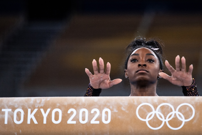 Biles launches history bid as surfing, skateboarding make Olympic bow