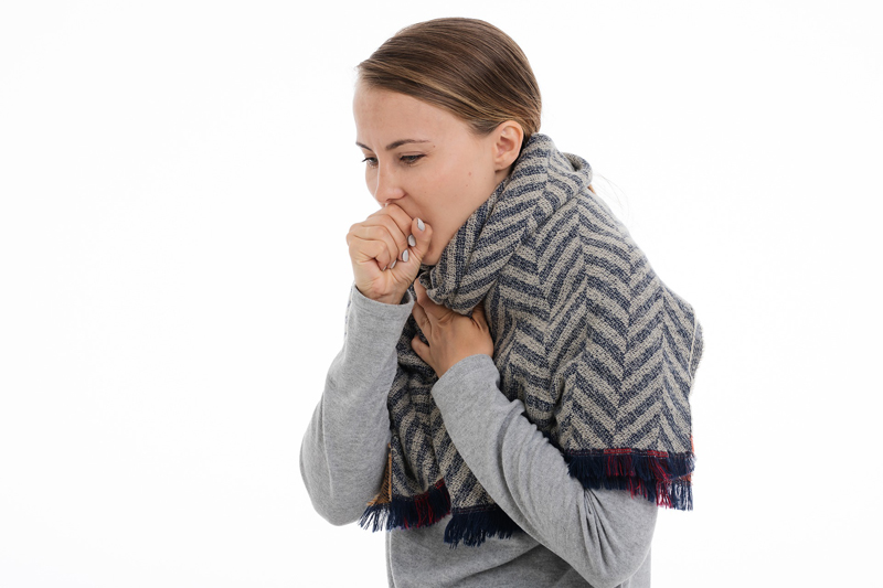 An infectious disease specialist advises people with cough to self-isolate to protect others.