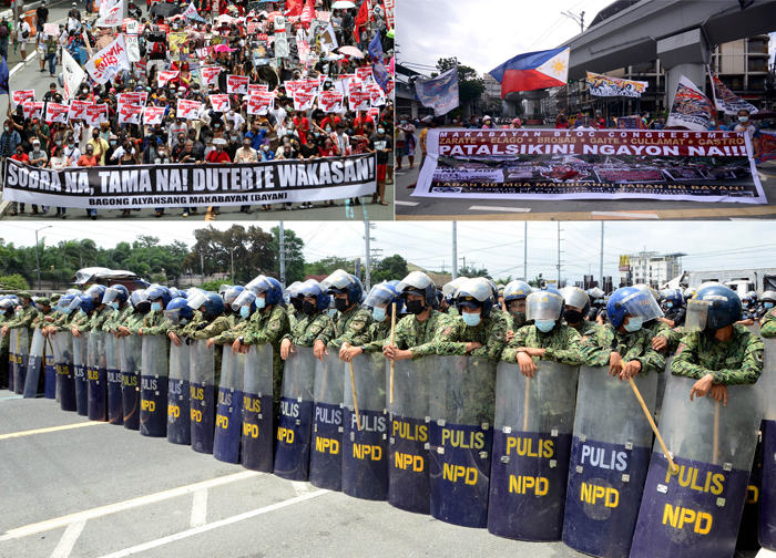 Oppositionists sum up Du30 gains: Disaster