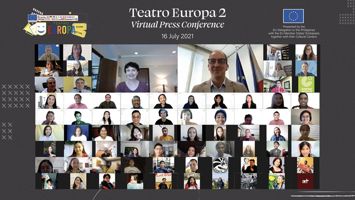 Teatro Europa returns for the second time online