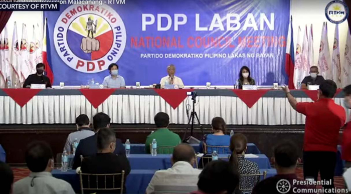 PDP-Laban moves for Duterte VP run; Pacquiao's role hangs in balance