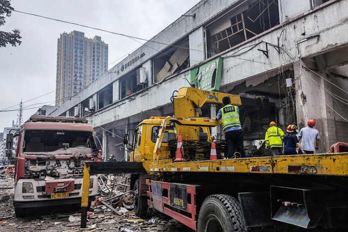 Central China gas blast death toll rises to 25: state media
