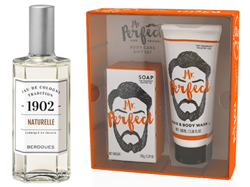 Mr. Perfect Soap + Wash Set and 1902 Tradition's Naturelle