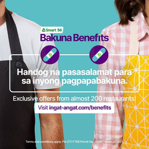 'Bakunabenefits': 188 restaurants offer exclusive deals to vaxxed Pinoys