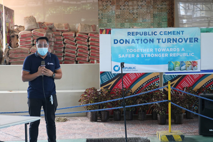 Republic Cement supports CDO informal settlers relocation tack