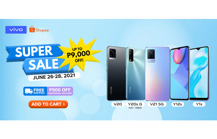 vivo partners Shopee to launch its first-ever Super Brand Day, an exclusive 3-day sale for vivo smartphones