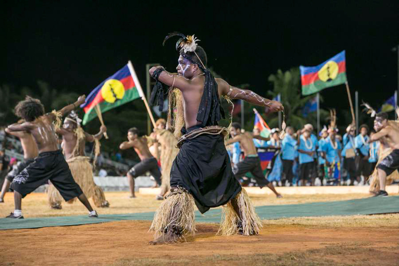 Performances using traditional instruments are highlights of cultural presentations in Guam, such as the Festival of the Pacific Arts held every four years. (Photo courtesy of visitguam.com)