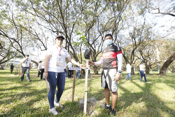 CDC, DENR conduct tree planting activity in Clark