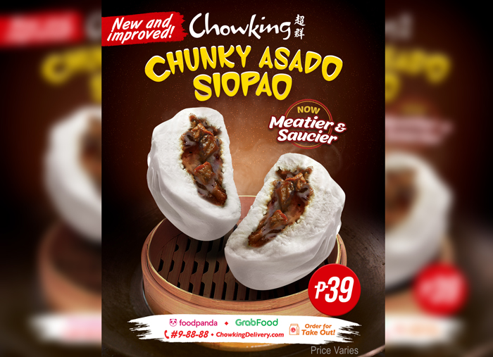 Meatier and saucier: Chowking's best-selling Siopao just got better!