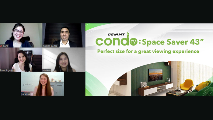 """Devant 43"""" Condo TV: Perfect size for great viewing experience"""