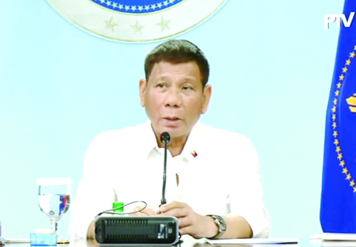 Duterte orders cops to nab those with no mask outside