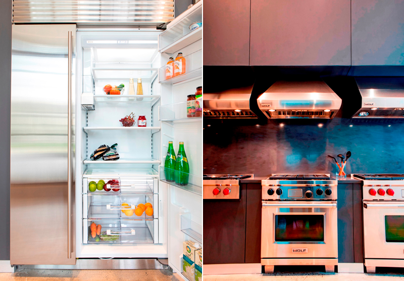 Sub-Zero and Wolf are known for premium refrigeration system and cooking equipment, respectively.