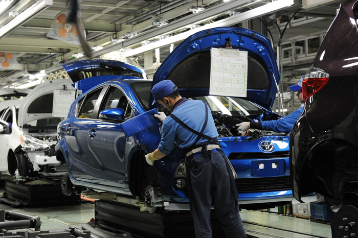 Lessons from 2011 disaster help Toyota withstand chip shortage
