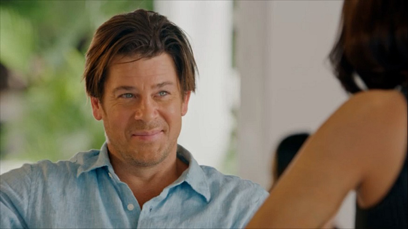 American actor Christian Kane in a scene from 'Almost Paradise,' an American series that features the artistry of local actors and directors.
