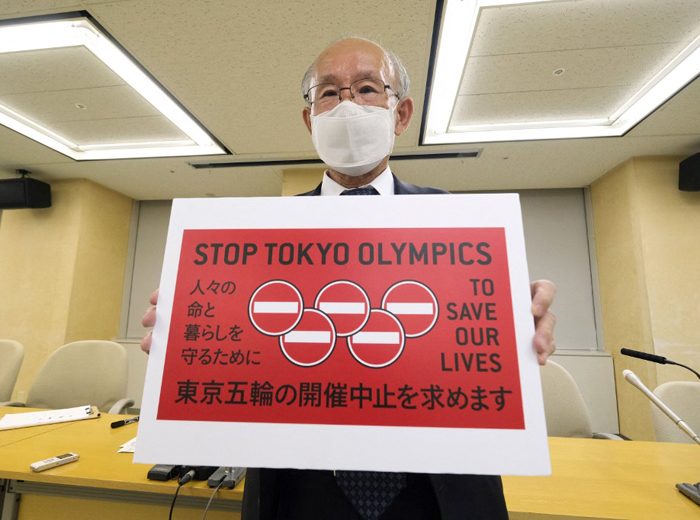 350,000 sign 'Cancel Olympics' petition