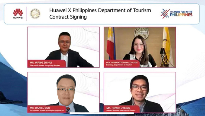 Huawei partners with DOT to showcase beauty of PH