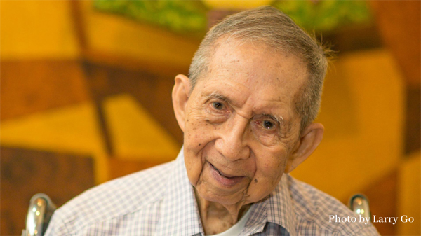 Fr. Roque Ferriols, SJ, celebrates his 80 years as a Jesuit in May this year.