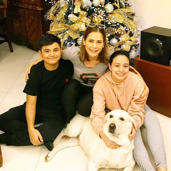 Maritoni and her  children love dogs of all kinds. They believe all dogs and cats deserve a goof life.