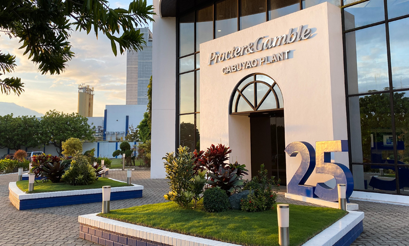 The P&G Cabuyao plant has successfully cut more than 80 percent of its manufacturing greenhouse gas emissions ahead of the company's global target.
