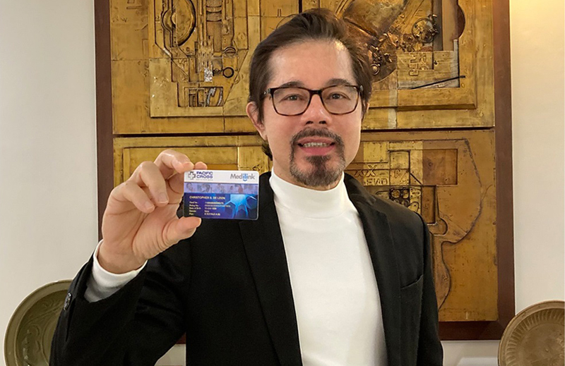 Actor Christopher de Leon shares the three Ps that helped him cope with stress and anxiety during his battle against COVID-19 last year.