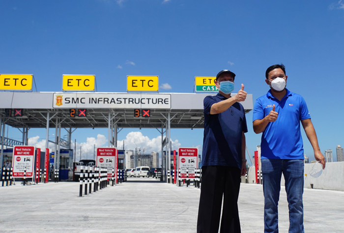 SMC unit opens Quirino gate of Skyway Stage 3