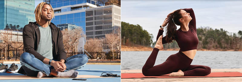 Getting some sunshine, meditating, and doing physical activities are recommended for peak mind, body, and heart health.