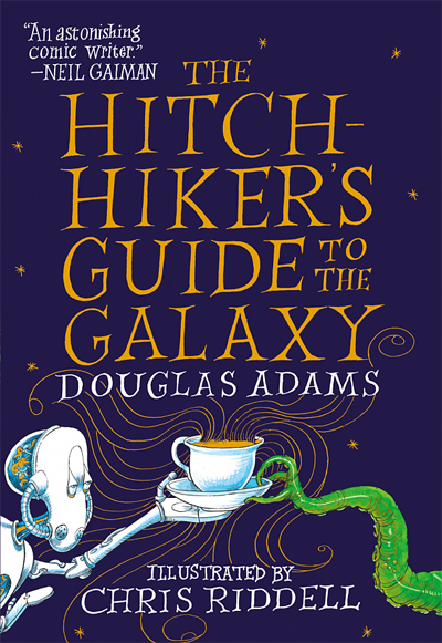 'The Hitchhiker's Guide to the Galaxy' by Douglas Adams (2021 edition, Del Rey)