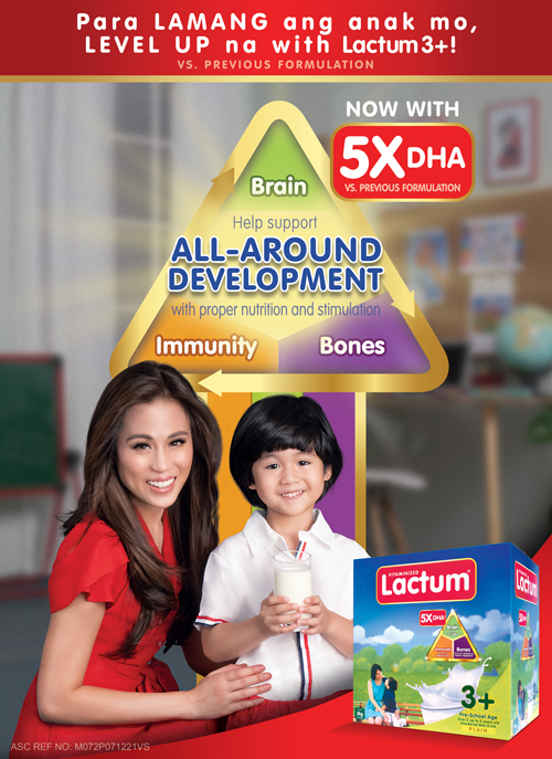 Lamang ang anak ko: Raising smarter, stronger children with the New and Improved Lactum 3+