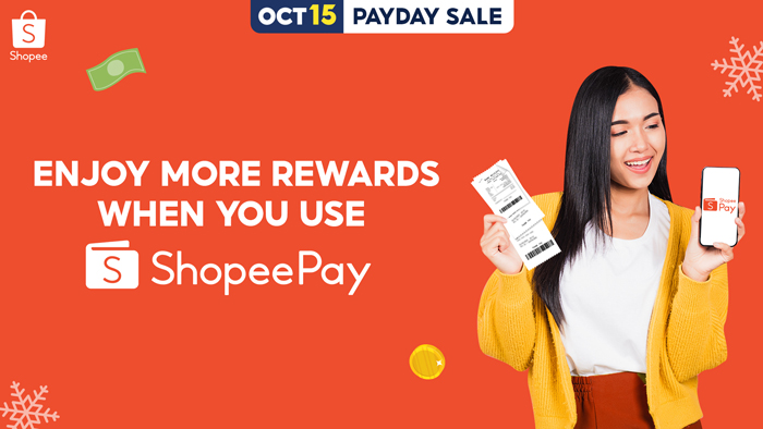 Maximize your 'suweldo' this Payday Sale, save more when paying bills via ShopeePay