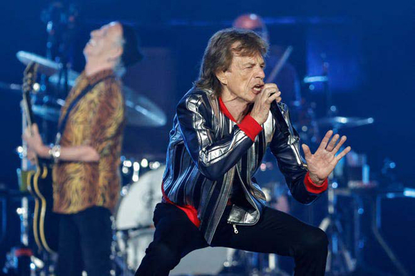 Mick Jagger and the Rolling Stones perform in St. Louis, Missouri during the British rock band's 'No Filter' 2021 North American tour.