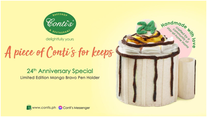 Handmade with Love: A Piece of Conti's for Keeps