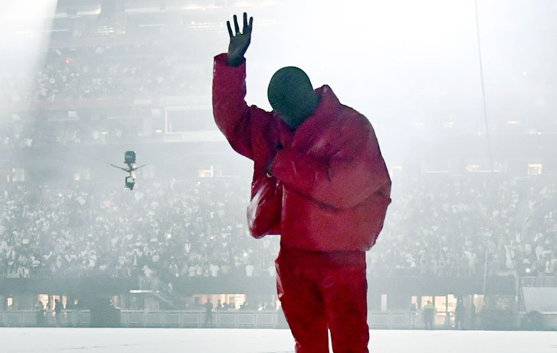 Kanye West's new album 'Donda' has amassed 775 million streams since its debut a week ago.