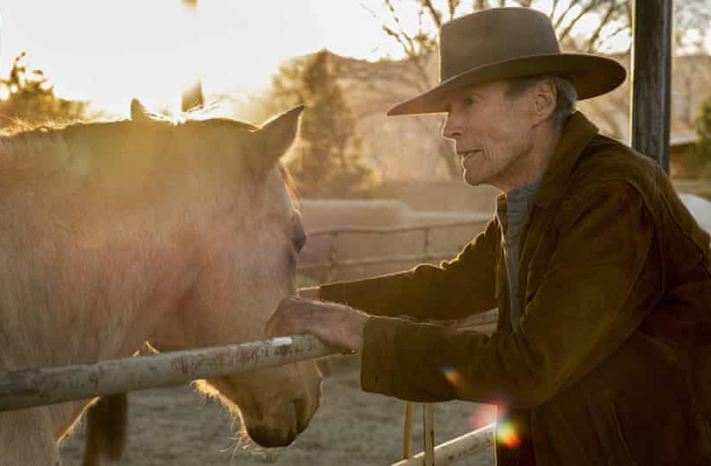 Clint Eastwood, 91, appears on-screen in a new movie as a former rodeo champion tasked with one last job.