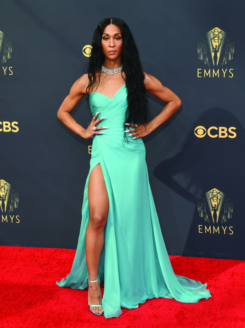 TV's best-dressed stars at the 2021 Emmy Awards