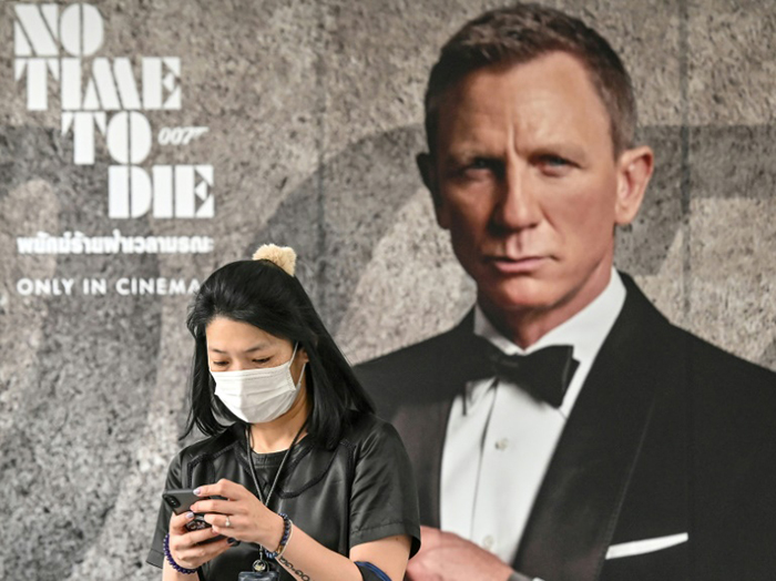 007 back after virus delay: 'We've been expecting you, Mr. Bond...'