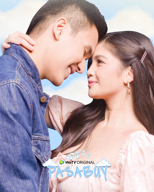 """Gino Roque teams up with Heaven Peralejo for the first time in WeTV original series, """"Pasabuy.'"""