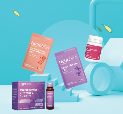 On-the-go vitamins and supplements in various formats.