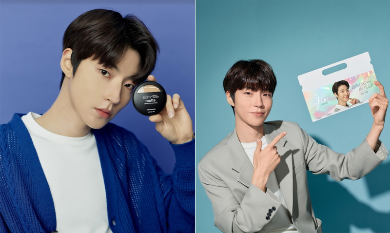 Hwang In-youp is the new face of BYS Philippines, for both its skincare and makeup lines.