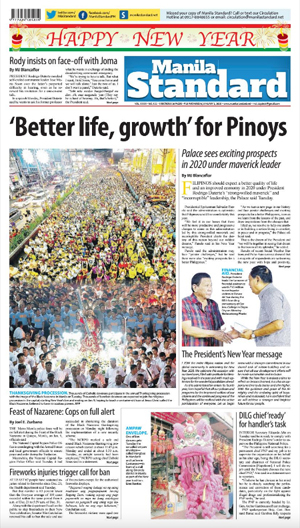 Wednesday Print Edition (01/01/2020)