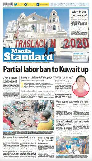 Friday Print Edition (01/03/2020)
