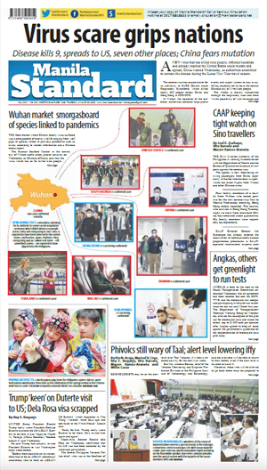 Thursday Print Edition (01/23/2020)