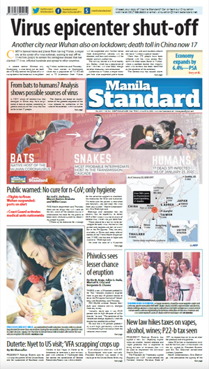 Friday Print Edition (01/24/2020)