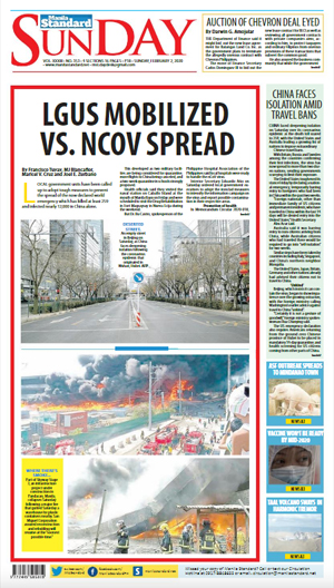 Sunday Print Edition (02/02/2020)