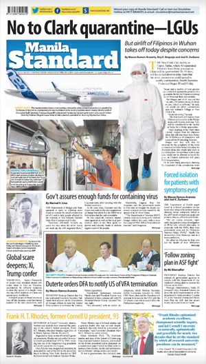 Saturday Print Edition (02/08/2020)