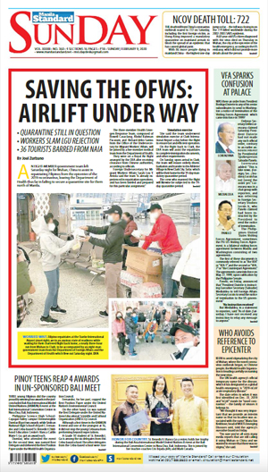 Sunday Print Edition (02/09/2020)