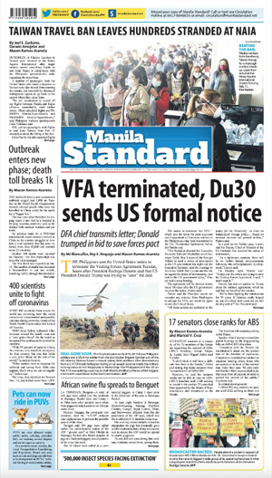 Wednesday Print Edition (02/12/2020)