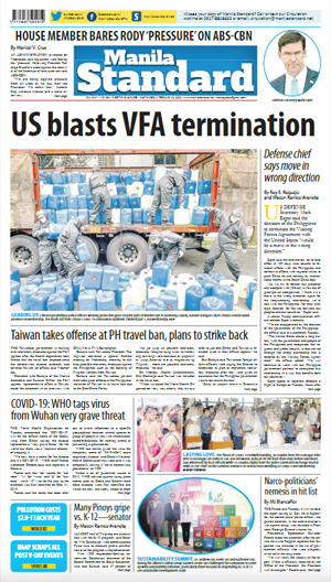 Thursday Print Edition (02/13/2020)