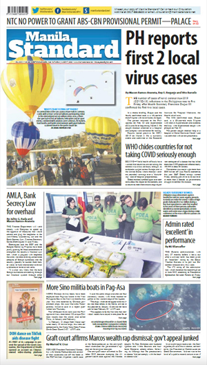 Saturday Print Edition (03/07/2020)