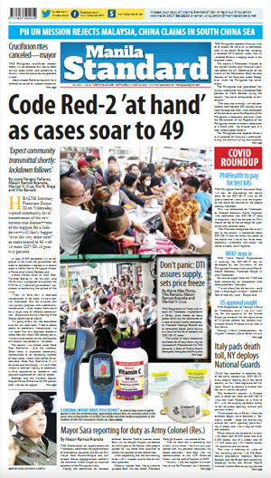 Thursday Print Edition (03/12/2020)
